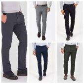 Lizzalli Klasik Kesim Erkek Kanvas Pantalon 5 Renk
