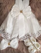 Kız Bebek Mevlütlük Elbise Seti Babylia