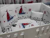 Bebek Uyku Seti Lüks Yelkenli