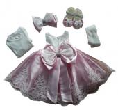 Mevlütlük Elbise Babylia Kız Bebek Lüks Abiye 0...