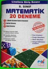 Serkan Akça 8.sınıf Matematik 20 Deneme