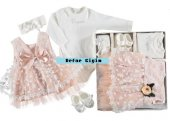 Kız Bebe Lux Mevlütlük Elbise