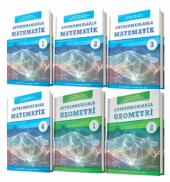 Antrenmanlarla Matematik-Geometri Seti (6-Kitap) +Hediye