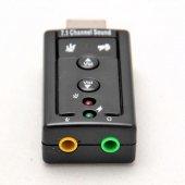 7+1 USB SES KARTI VİRTUAL 3D KABLOSUZ WİN7 WIN8 WIN10 USB AUDIO Ç-3