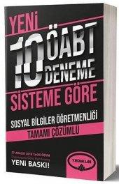 Yediiklim Öabt Sosyal Bilgiler Çözümlü 10 Deneme (Yeni)