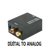 Optik to Rca Ses Çevirici Dijital Analog TOS DÖNÜŞTÜRÜCÜ RCA ÇEVİ-3