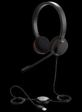 Jabra Evolve 20 Duo Usb Mikrofonlu Çağrı Merkezi Kulaklığı