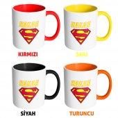 FPM1225 Sevgililer Gününe Özel Süperman Hediye Kupa Bardak-2
