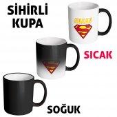 FPM1225 Sevgililer Gününe Özel Süperman Hediye Kupa Bardak-3