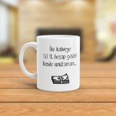 Fpm1095 Her S �ey Bi Kahve İle Bas �ladı 2 Hediye Kupa Bardak