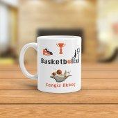 Fpm1041 Basketbolcuya Hediye Kupa Bardak