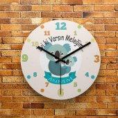 Fmc1272 Anneler Gününe Özel Hediye Mdf Duvar Saati 39cm