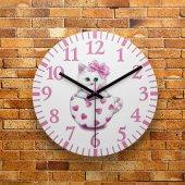 FMC1199 Tasarımlı MDF AHŞAP Duvar Saati 39cm