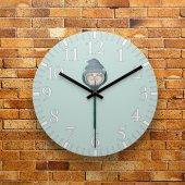 Fmc1198 Tasarımlı Mdf Ahşap Duvar Saati 39cm