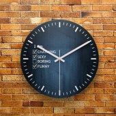 Fmc1185 Tasarımlı Mdf Ahşap Duvar Saati 39cm