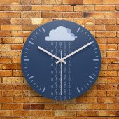 Fmc1183 Tasarımlı Mdf Ahşap Duvar Saati 39cm
