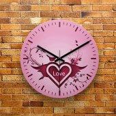 Fmc1180 Tasarımlı Mdf Ahşap Duvar Saati 39cm