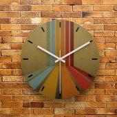 Fmc1176 Tasarımlı Mdf Ahşap Duvar Saati 39cm