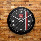 Fmc1168 Tasarımlı Mdf Ahşap Duvar Saati 39cm