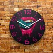 Fmc1159 Tasarımlı Mdf Ahşap Duvar Saati 39cm