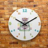 Fmc1147 Tasarımlı Mdf Ahşap Duvar Saati 39cm