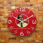 Fmc1138 Tasarımlı Mdf Ahşap Duvar Saati 39cm