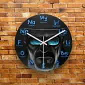 Fmc1125 Tasarımlı Mdf Ahşap Duvar Saati 39cm