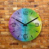 Fmc1097 Tasarımlı Mdf Ahşap Duvar Saati 39cm