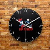Fmc1092 Tasarımlı Mdf Ahşap Duvar Saati 39cm