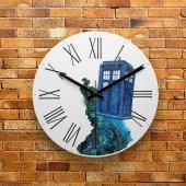 Fmc1091 Tasarımlı Mdf Ahşap Duvar Saati 39cm