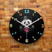 Fmc1090 Tasarımlı Mdf Ahşap Duvar Saati 39cm