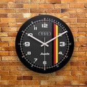 FMC1119 Tasarımlı MDF AHŞAP Duvar Saati 39cm