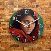 Fmc1089 Tasarımlı Mdf Ahşap Duvar Saati 39cm