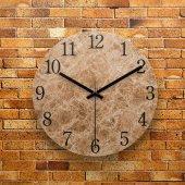 Fmc1082 Tasarımlı Mdf Ahşap Duvar Saati 39cm