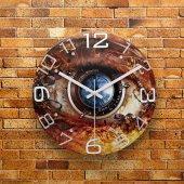 Fmc1043 Tasarımlı Mdf Ahşap Duvar Saati 39cm