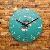 Fmc1055 Tasarımlı Mdf Ahşap Duvar Saati 39cm