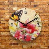 Fmc1034 Tasarımlı Mdf Ahşap Duvar Saati 39cm