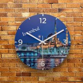 FMC1056 Tasarımlı MDF AHŞAP Duvar Saati 39cm