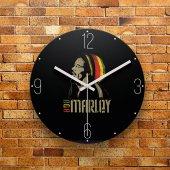 Fmc1022 Tasarımlı Mdf Ahşap Duvar Saati 39cm