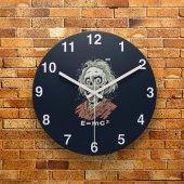 FMC1038 Tasarımlı MDF AHŞAP Duvar Saati 39cm