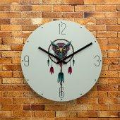 Fmc1020 Tasarımlı Mdf Ahşap Duvar Saati 39cm