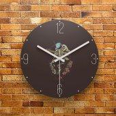 Fmc1014 Tasarımlı Mdf Ahşap Duvar Saati 39cm