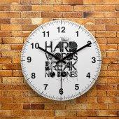 Fmc1050 Tasarımlı Mdf Ahşap Duvar Saati 39cm