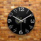 Fmc1013 Tasarımlı Mdf Ahşap Duvar Saati 39cm