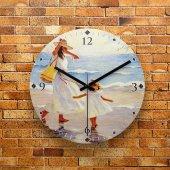 Fmc1006 Tasarımlı Mdf Ahşap Duvar Saati 39cm