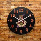 Fmc1053 Tasarımlı Mdf Ahşap Duvar Saati 39cm