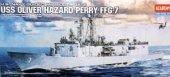 Academy 14102 1 350 Uss Oliver Hazard Perry (Ffg 7