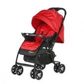 Baby2go 6021 Soft Çift Yönlü Bebek Arabası - Kırmızı-2