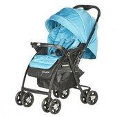 Baby2go 6021 Soft Çİft Yönlü Bebek Arabası -Mavi-2
