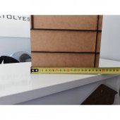 Makyaj Organizeri Ahsap Makyaj Malzemesi Düzenleyici Kozmetik Makyaj Malzemeleri Kutusu Standı-7